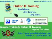 QA  QTP QC Online Training @500$ with100% Job Placement