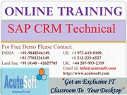 SAP CRM Technical Online Course | CRM Technical Training