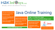 Java Certification Online Training in USA,  UK Attend Free Demo