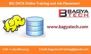 Big Data Hadoop Online Training and Placement @ $250