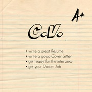CV writing and editing services