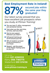 Change your Career with Pitman Training Waterford
