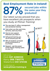 Accounting Technician Diploma with AAT from Pitman Training Waterford
