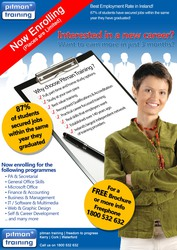 Thinking of changing your career? Why not let Pitman Training help you