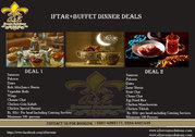 Iftar + Buffet Dinner Deals