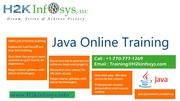 Java Online Training   J2EE Online Training