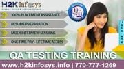 Best QA Testing Online Training Course